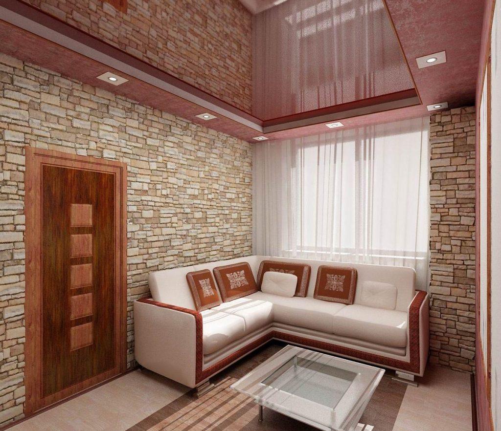Дизайн интерьера двух-комнатного номера в гостинице