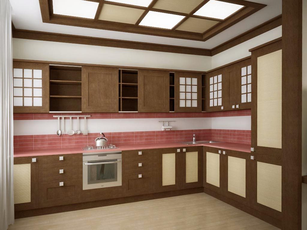 Дизайн интерьера кухни в японском стиле