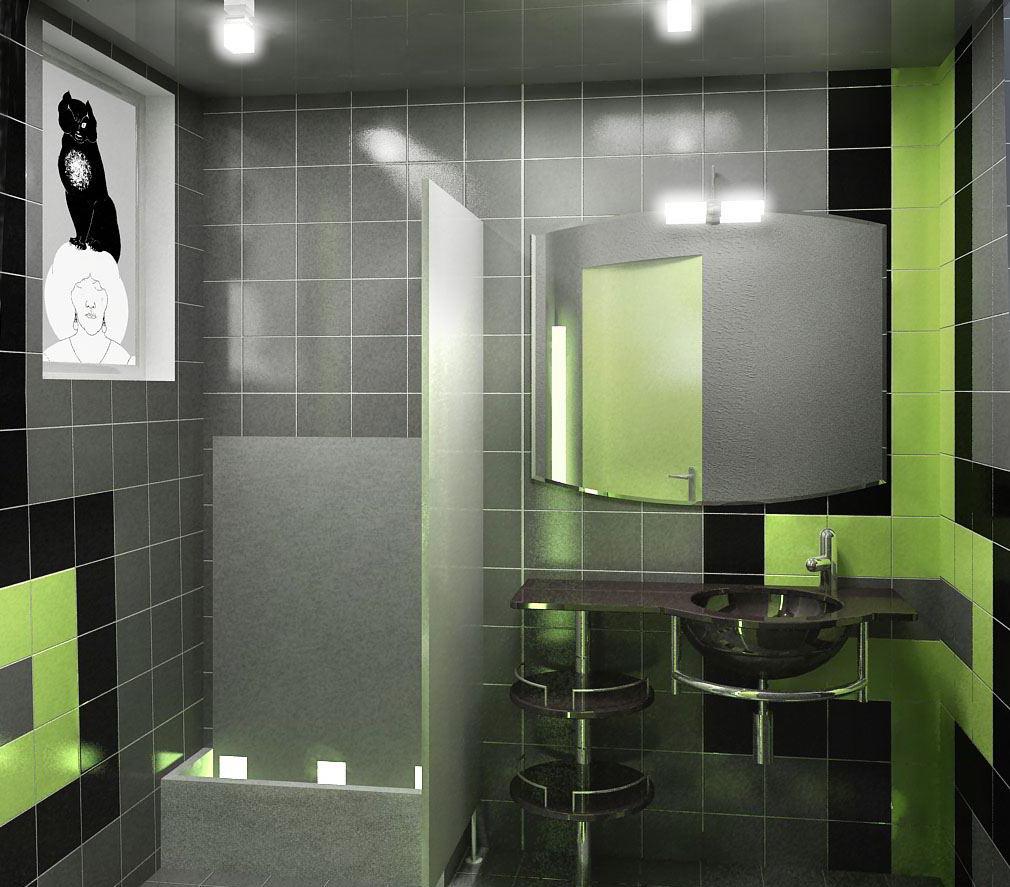 Дизайн интерьера мужского туалета в ресторане