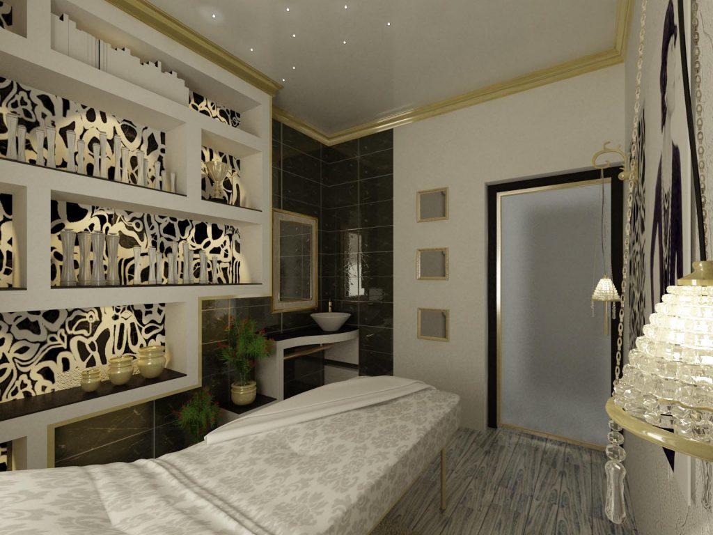 Дизайн интерьера кабинета косметолога