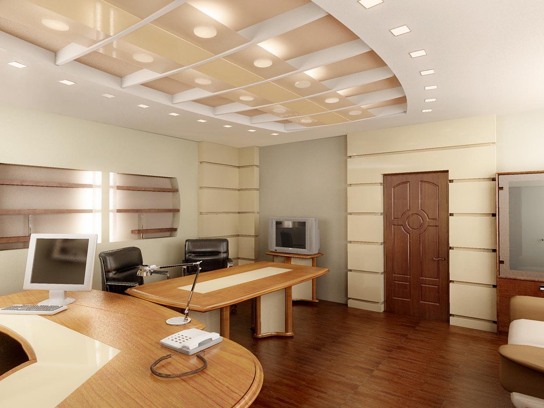 Дизайн интерьера рабочего кабинета