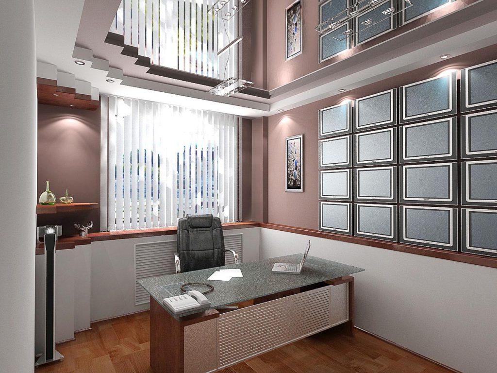 Дизайн интерьера рабочего кабинета управляющего гостиницей