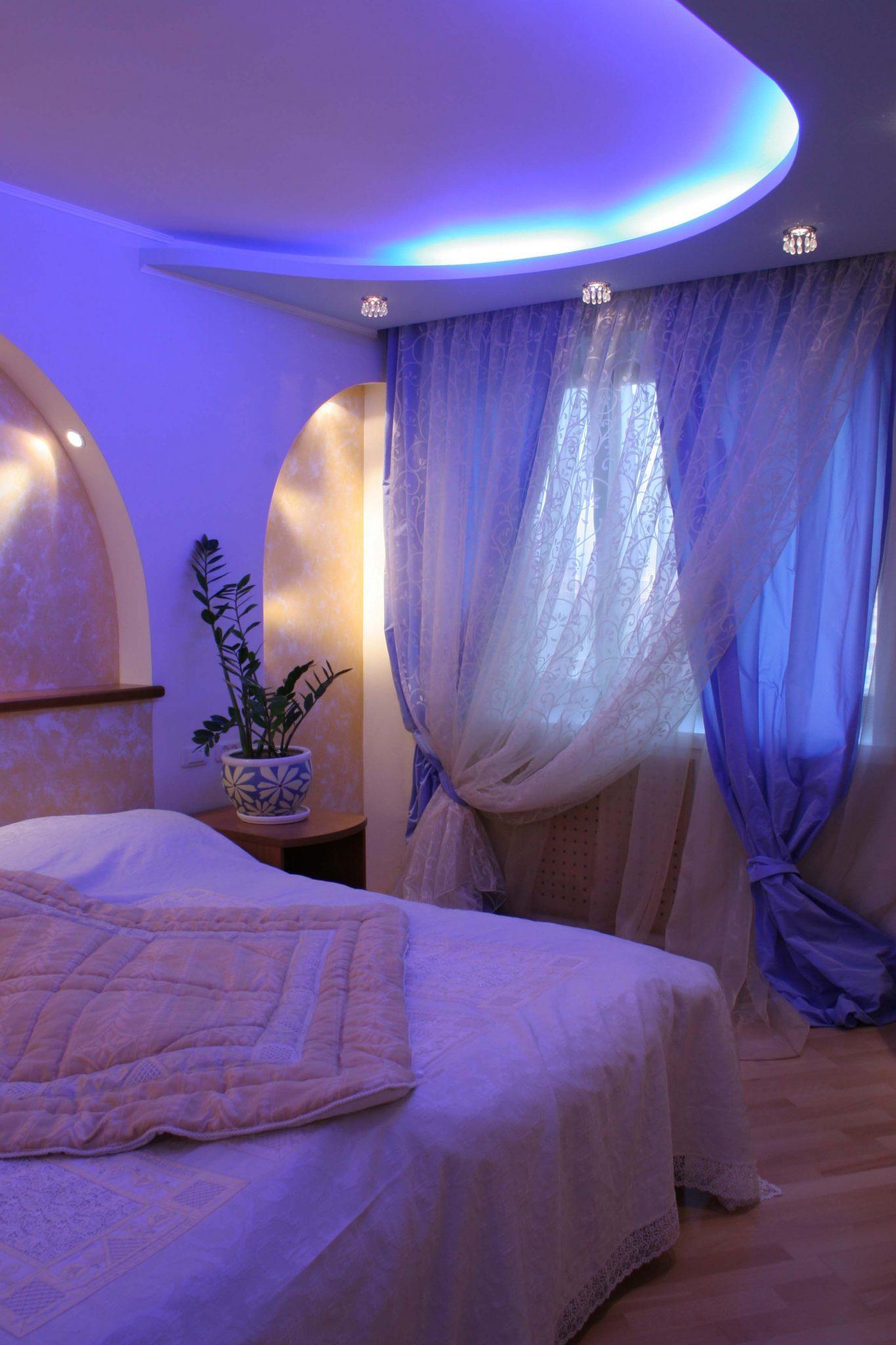 Фото воплощенного интерьера спальни