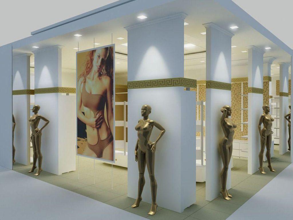 Магазин нижнего белья « Харита» в ТРК «Кольцо» и «Парк Хаус»