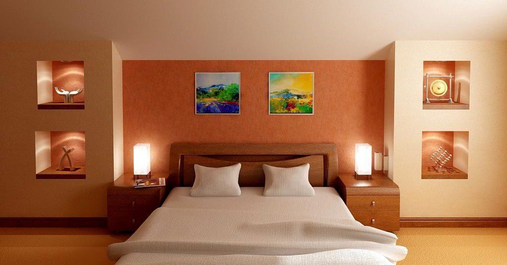 Дизайн интерьера гостевой спальни на мансарде