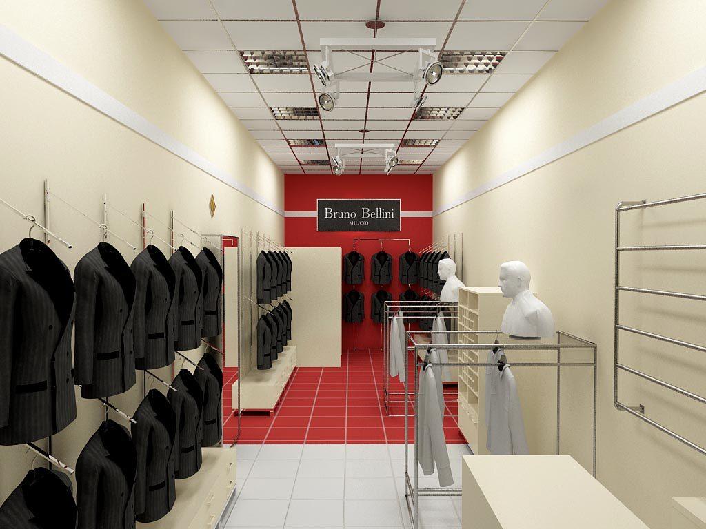 Магазин мужской одежды «Бруно Беллини» в ТРК «Кольцо»