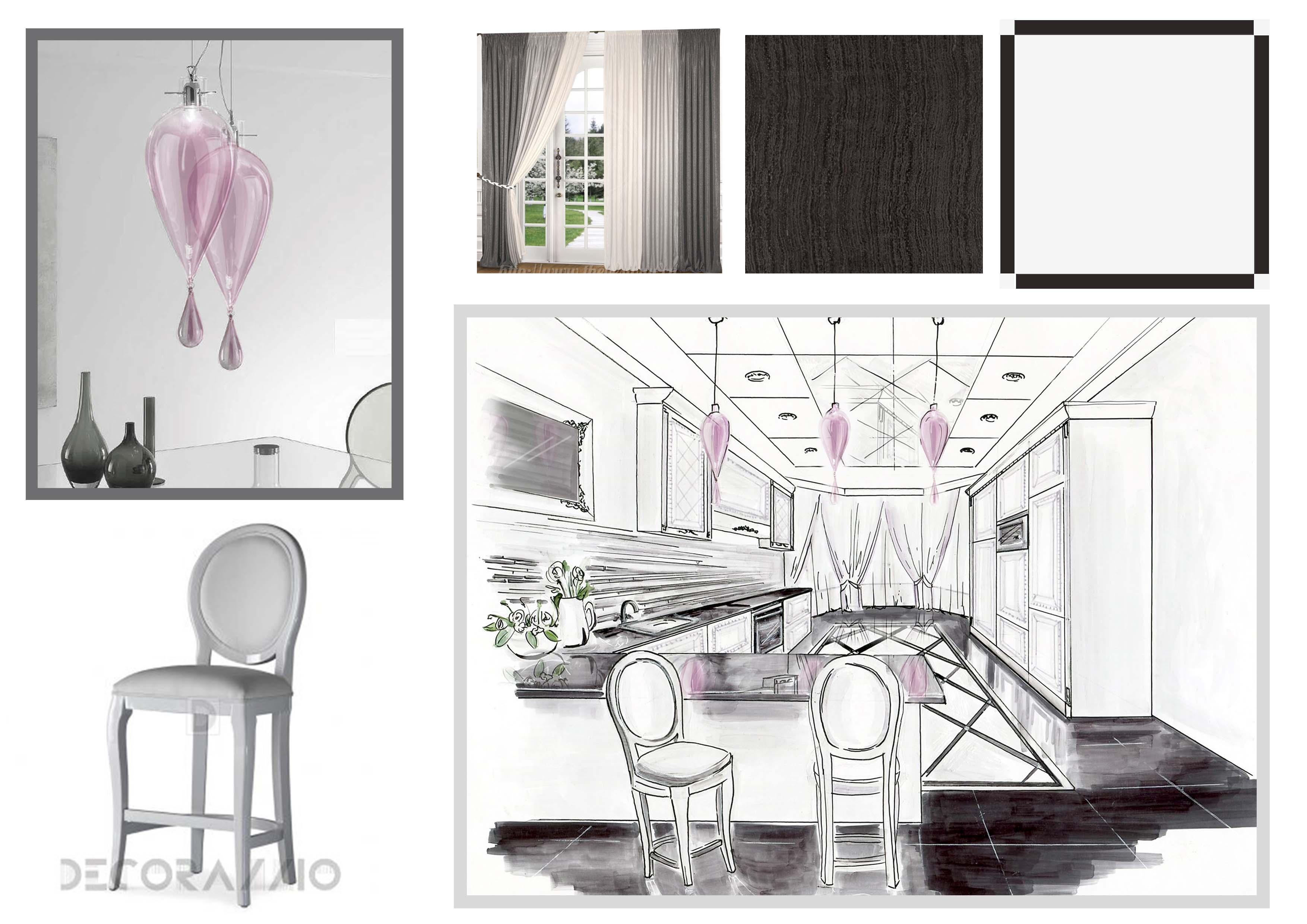 Концепция дизайна интерьера кухни