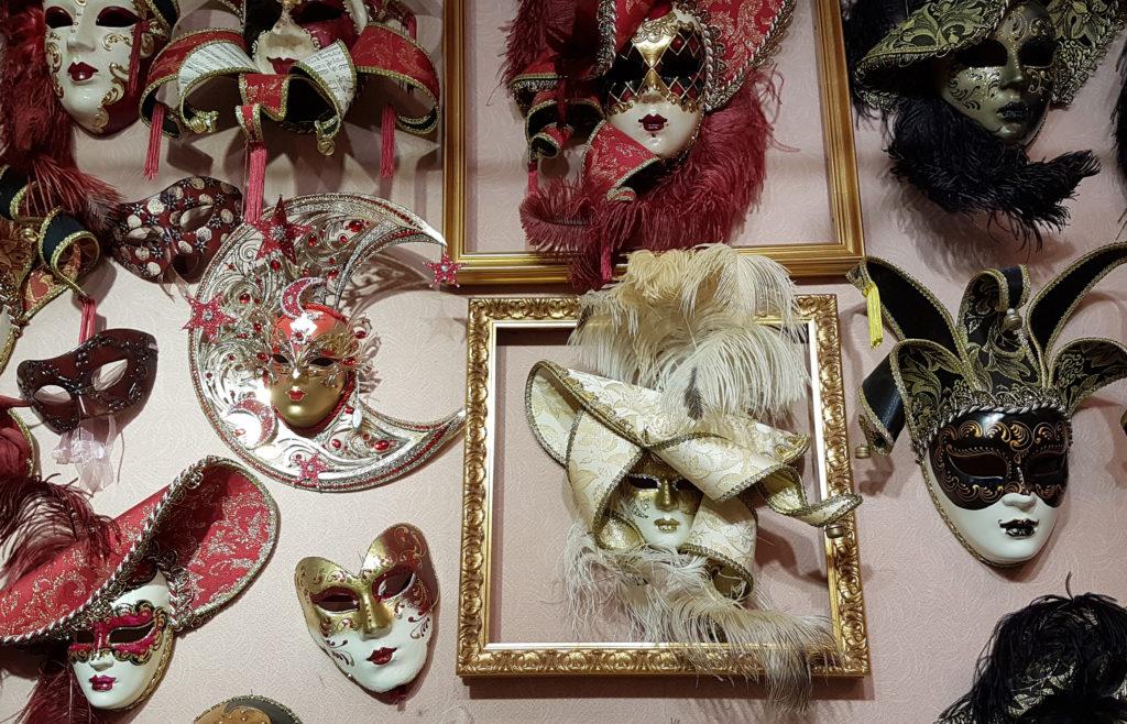 Виды венецианских масок