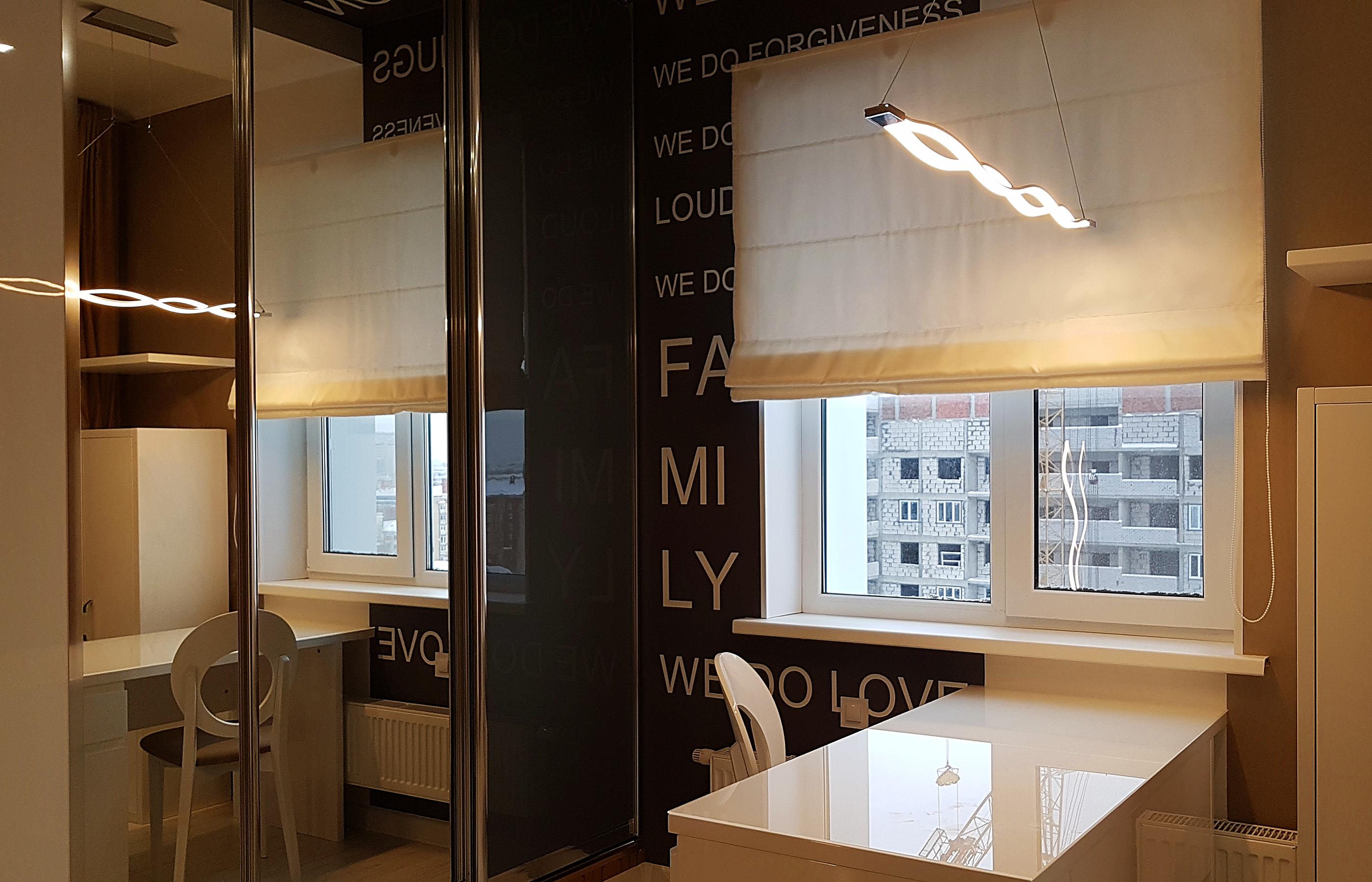 Фото реализованного интерьера кабинета