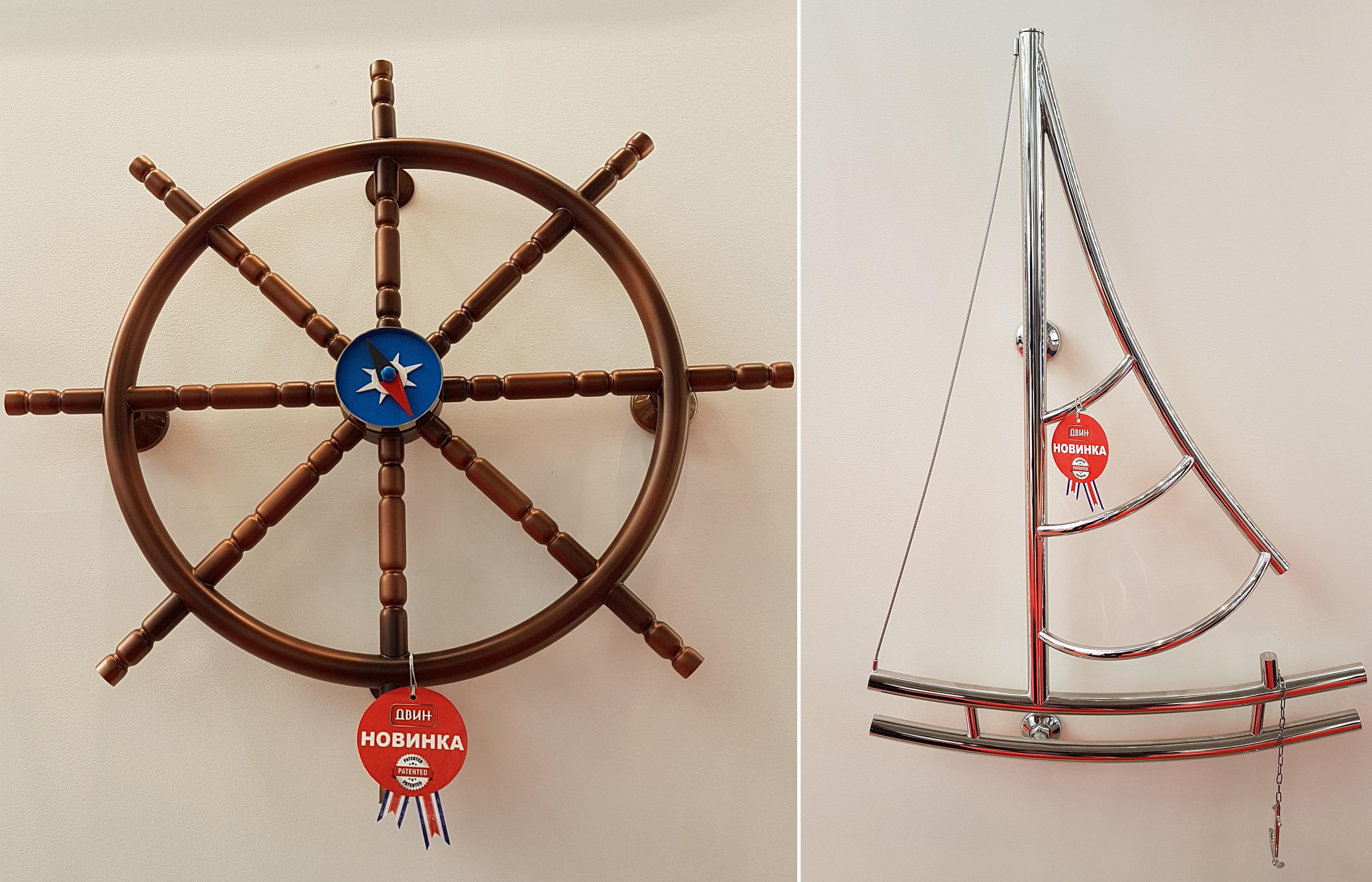 Полотенцесушители для интерьера в морском стиле