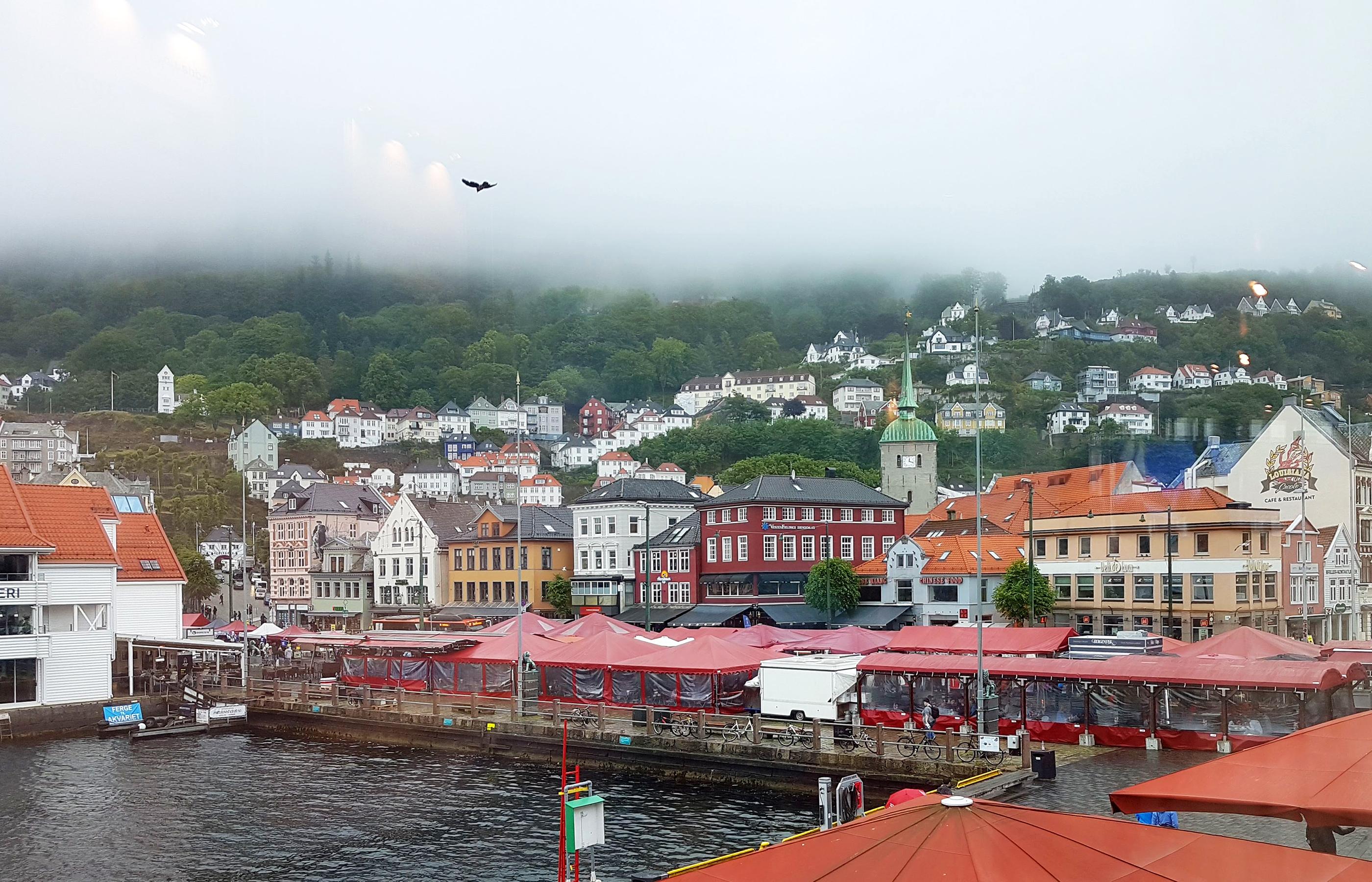 Берген - второй по величине город в Норвегии