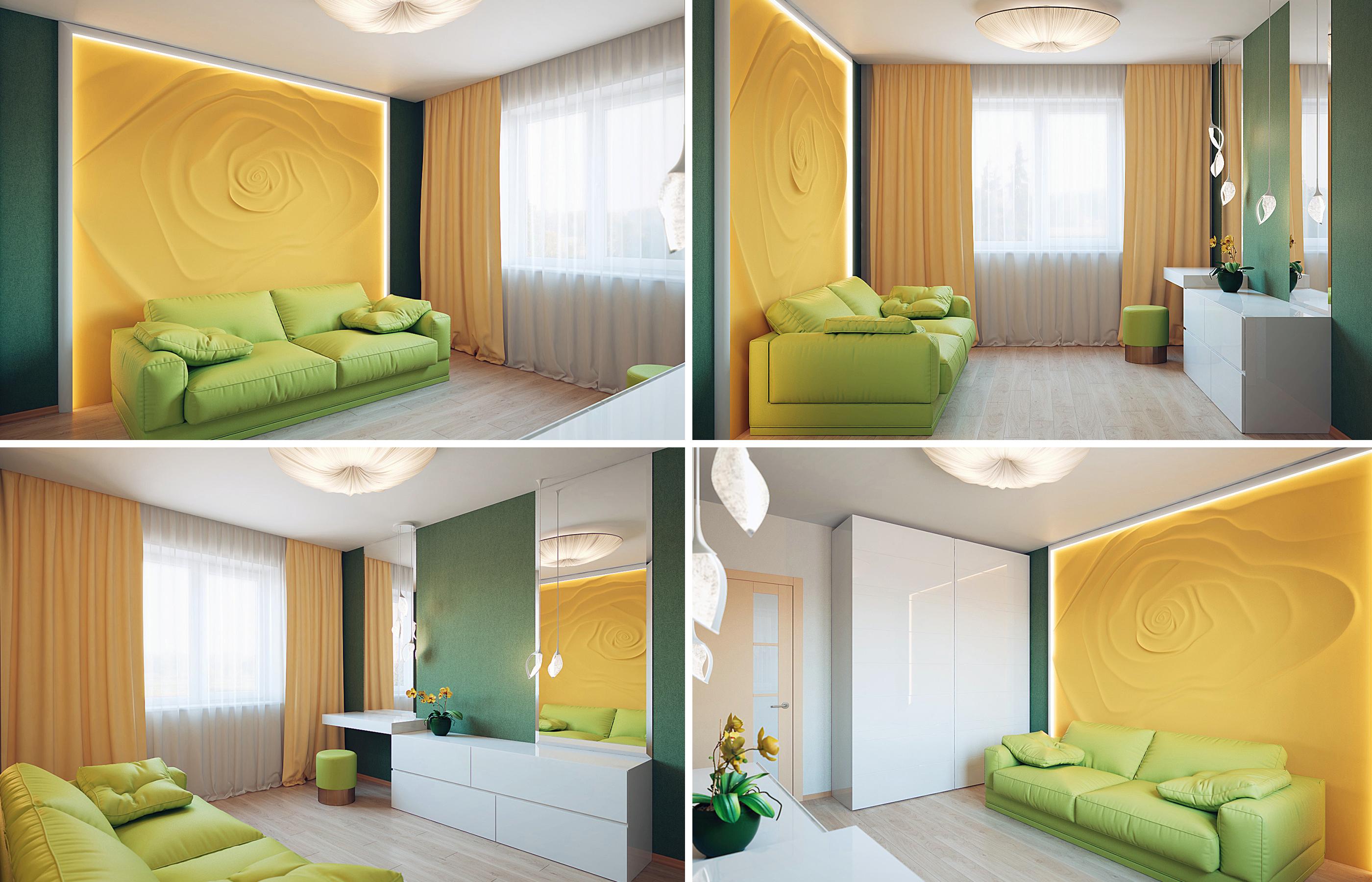 Дизайн интерьера комнаты девушки