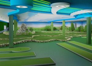 18 мини гольф