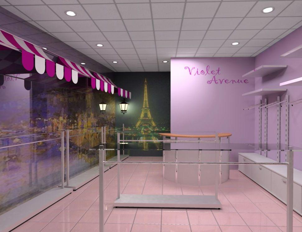 Магазин женской одежды «Сиреневый бульвар» в ТРК «Парк Хаус»