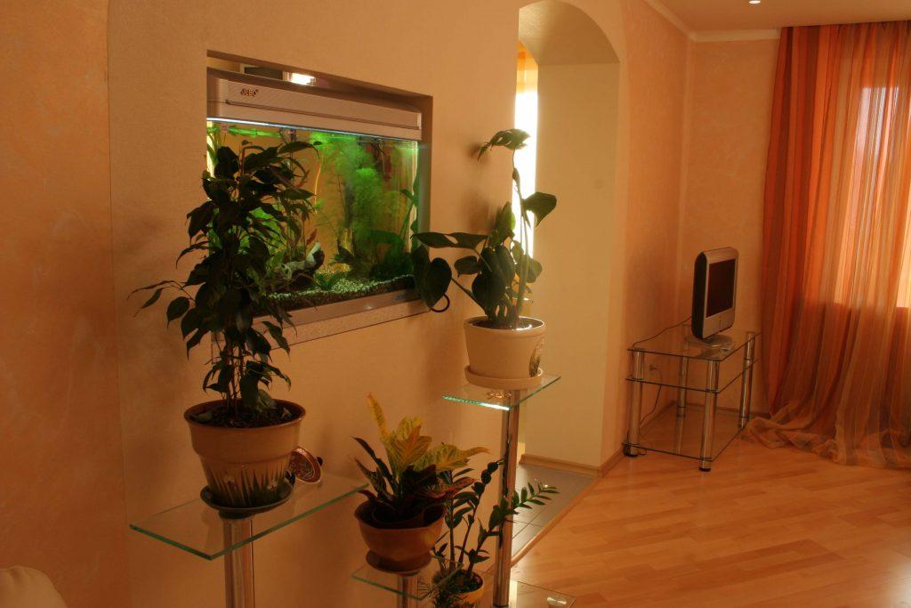 Фото воплощенного интерьера гостиной