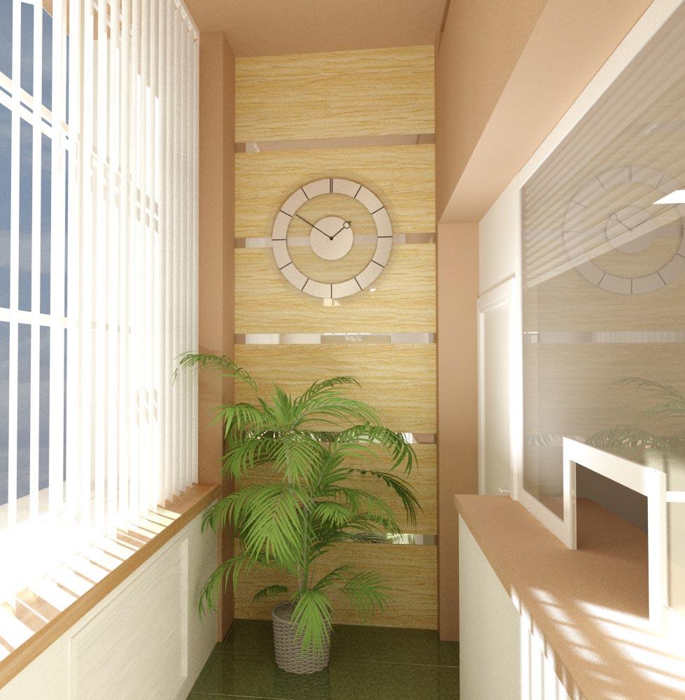 Дизайн интерьера кассовой кабинки