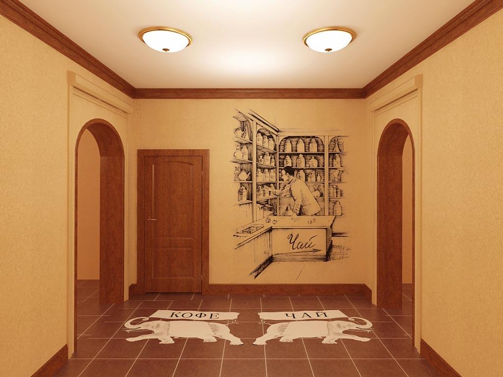 Проект дизайна интерьера