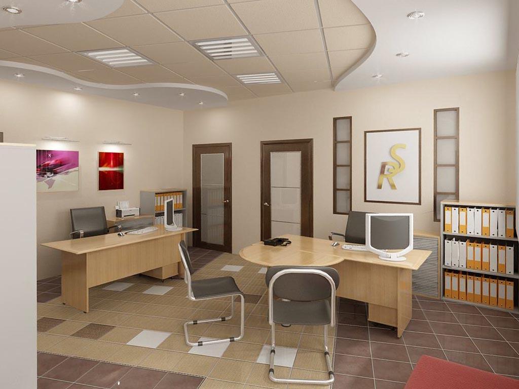 Дизайн интерьера кабинета персонала