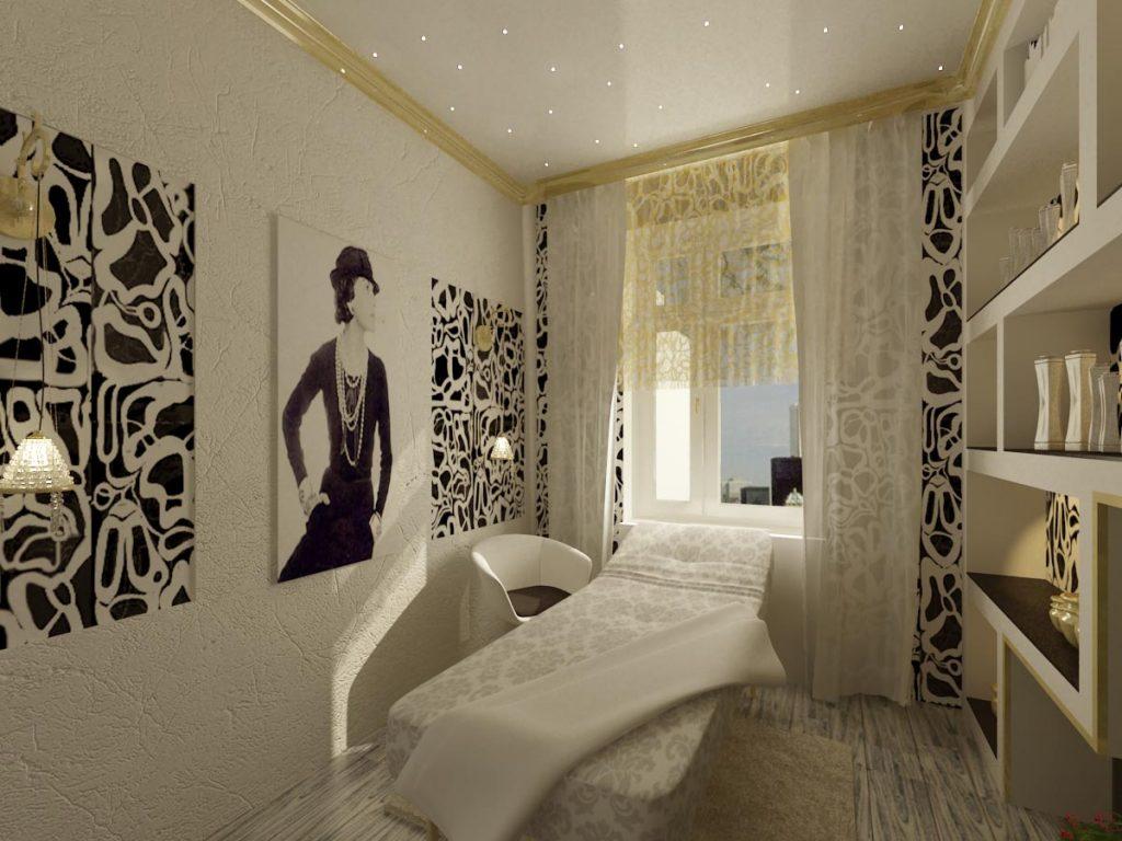 Дизайн интерьера кабинета косметологии