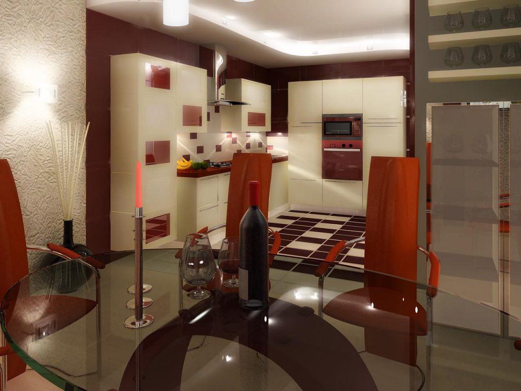 Вариации цветовой гаммы в дизайне интерьера кухни