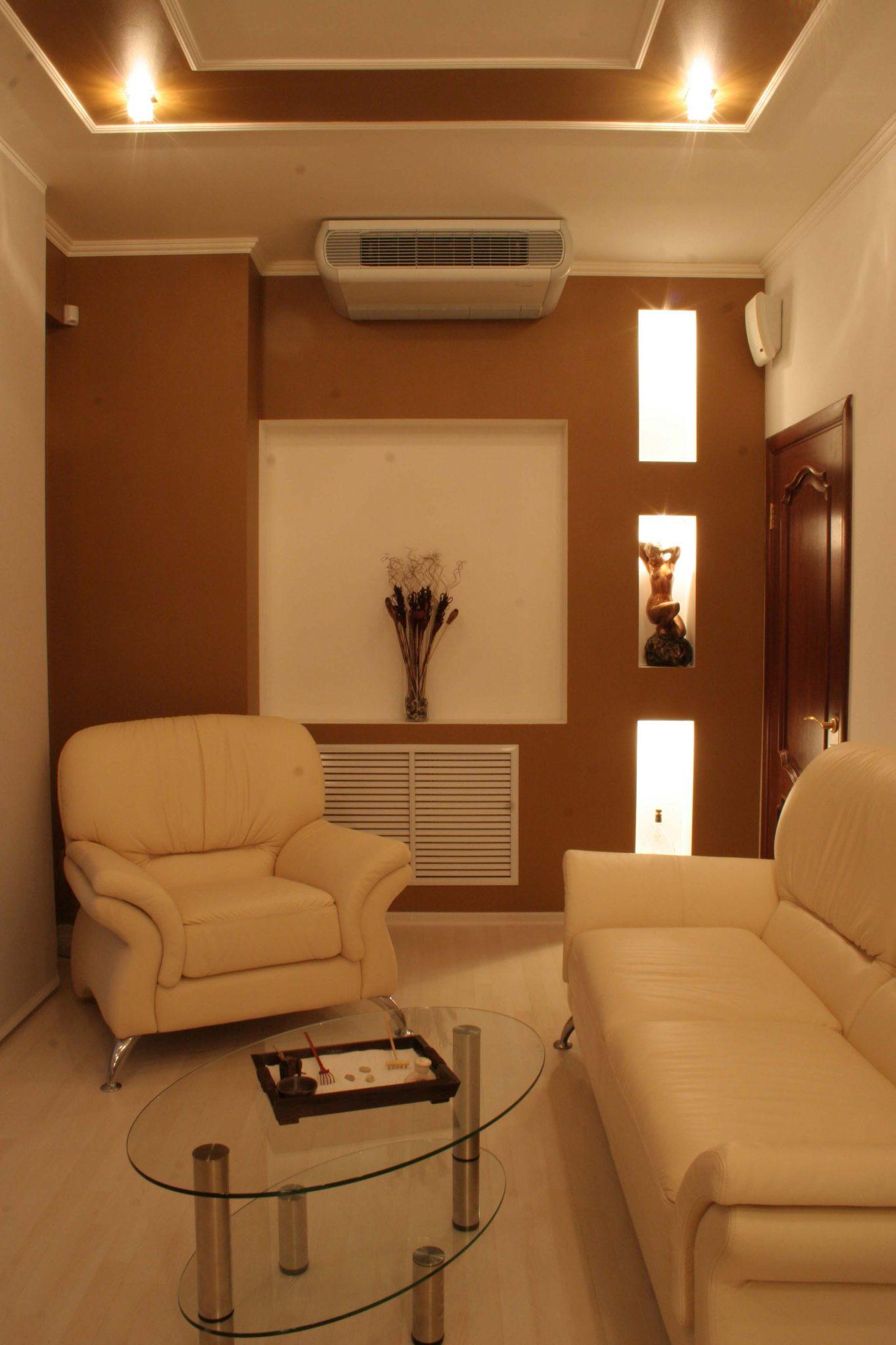 Фото воплощенного интерьера комнаты отдыха