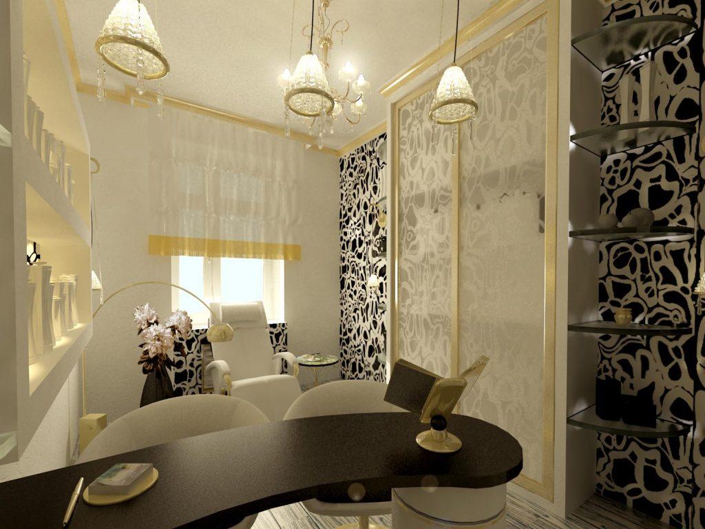 Дизайн интерьера маникюрного кабинета