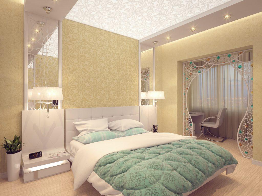 Дизайн интерьера родительской спальни