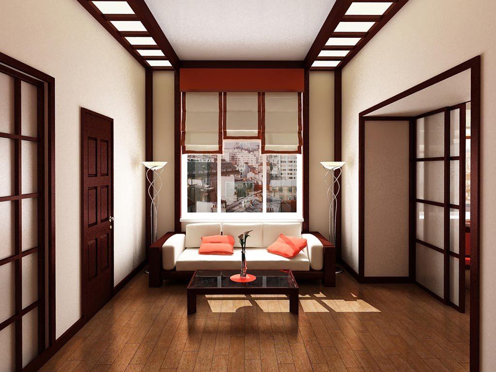 Дизайн интерьера двух-комнатного гостиничного номера