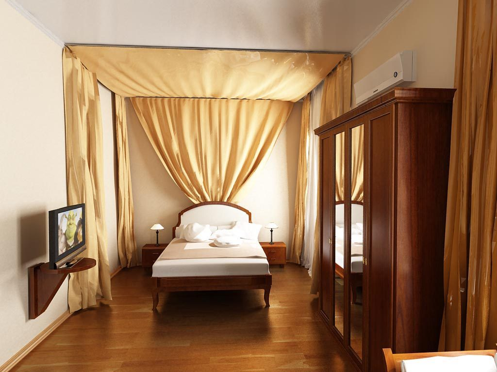 Дизайн интерьера гостиничного номера в классическом стиле