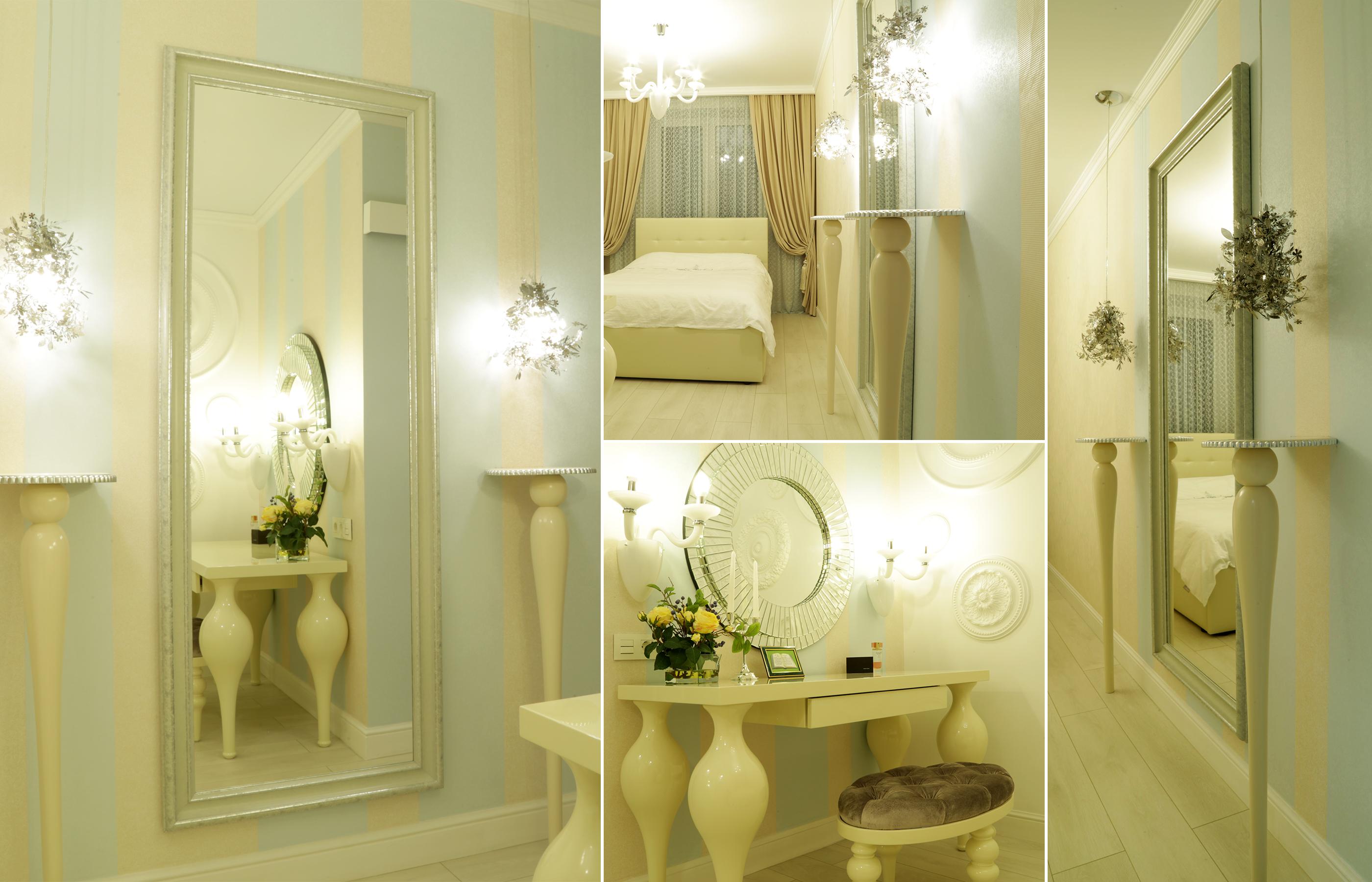 Дизайн интерьера спальни в ЖК