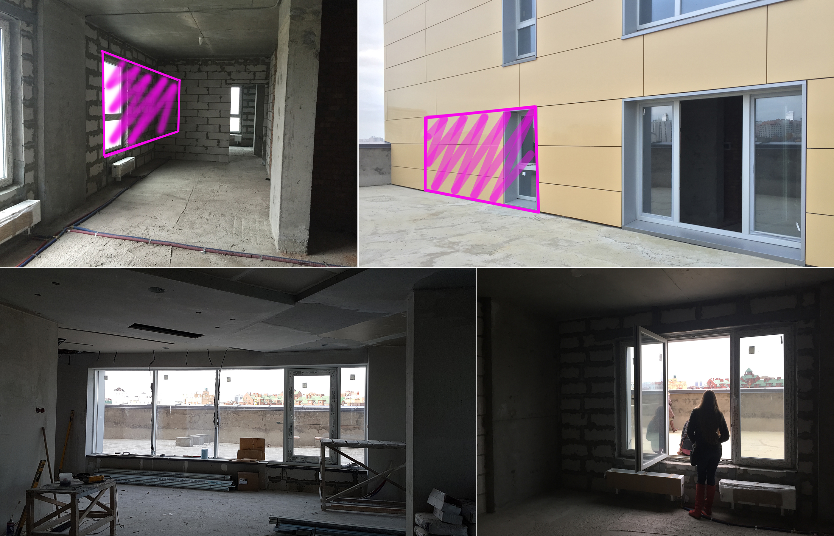 Начало строительно-отделочных работ в квартире в ЖК