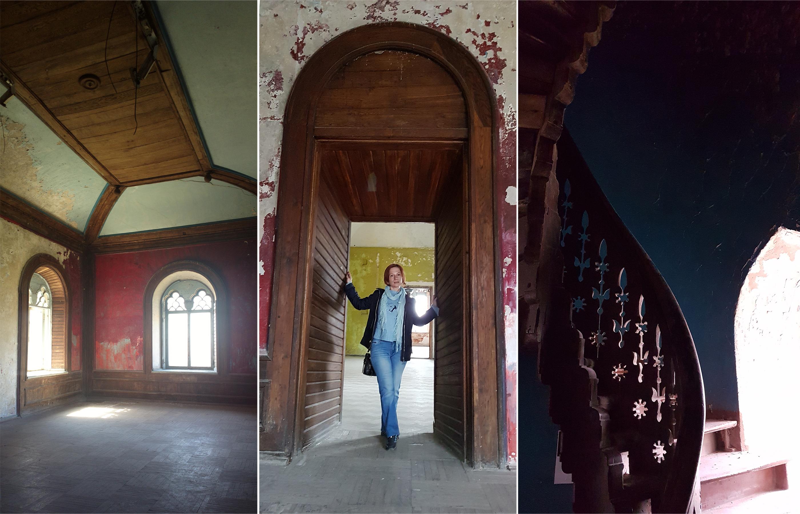 Интерьер рабочего кабинета в Шереметевском замке