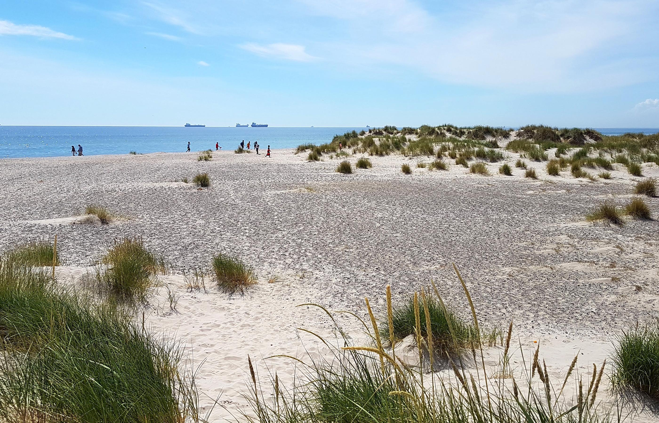 Песчаная дюна на мысе Гренен