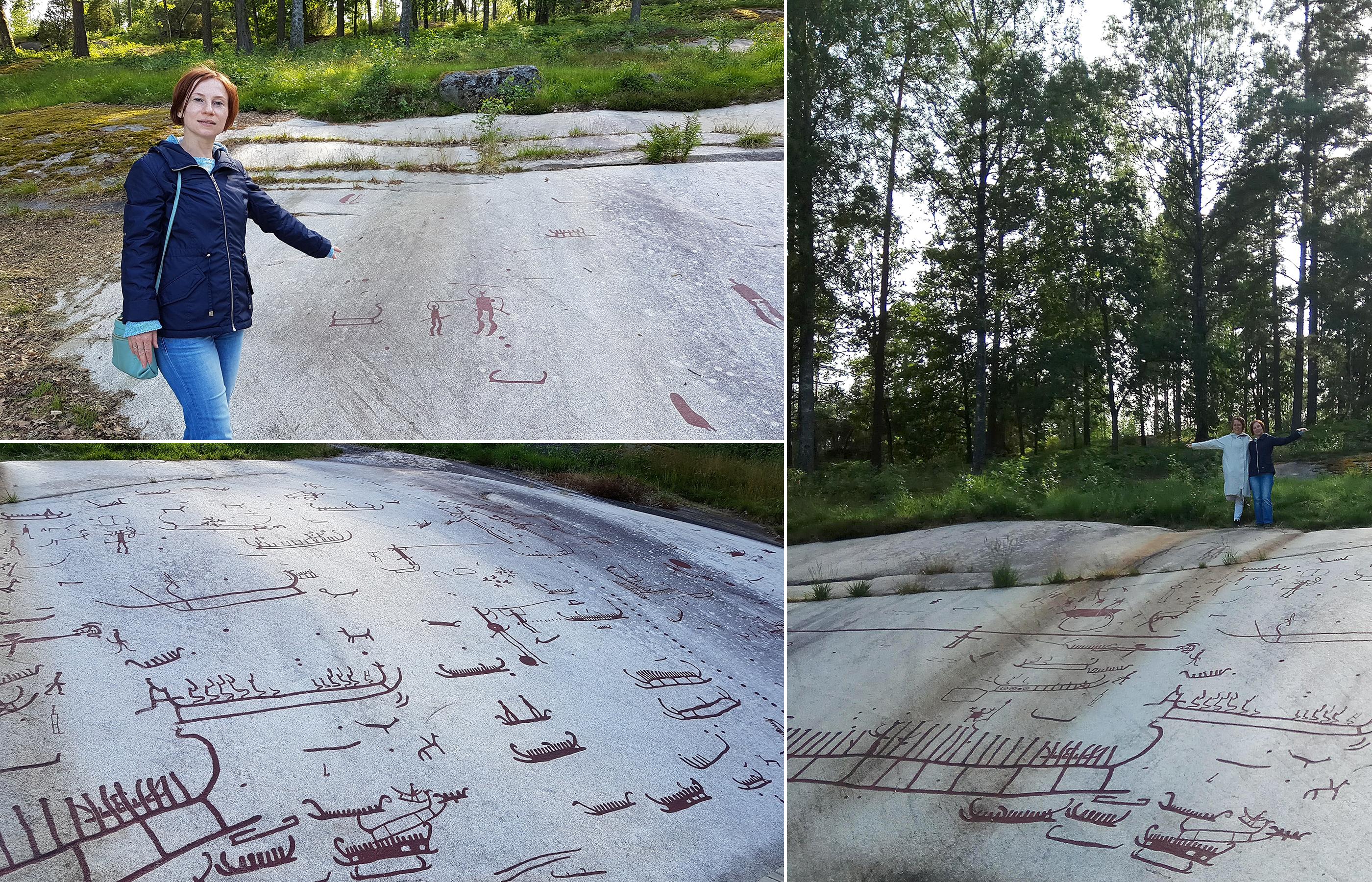 Танум - комплекс наскальных изображение в провинции Бохуслен (Bohuslan), Швеция