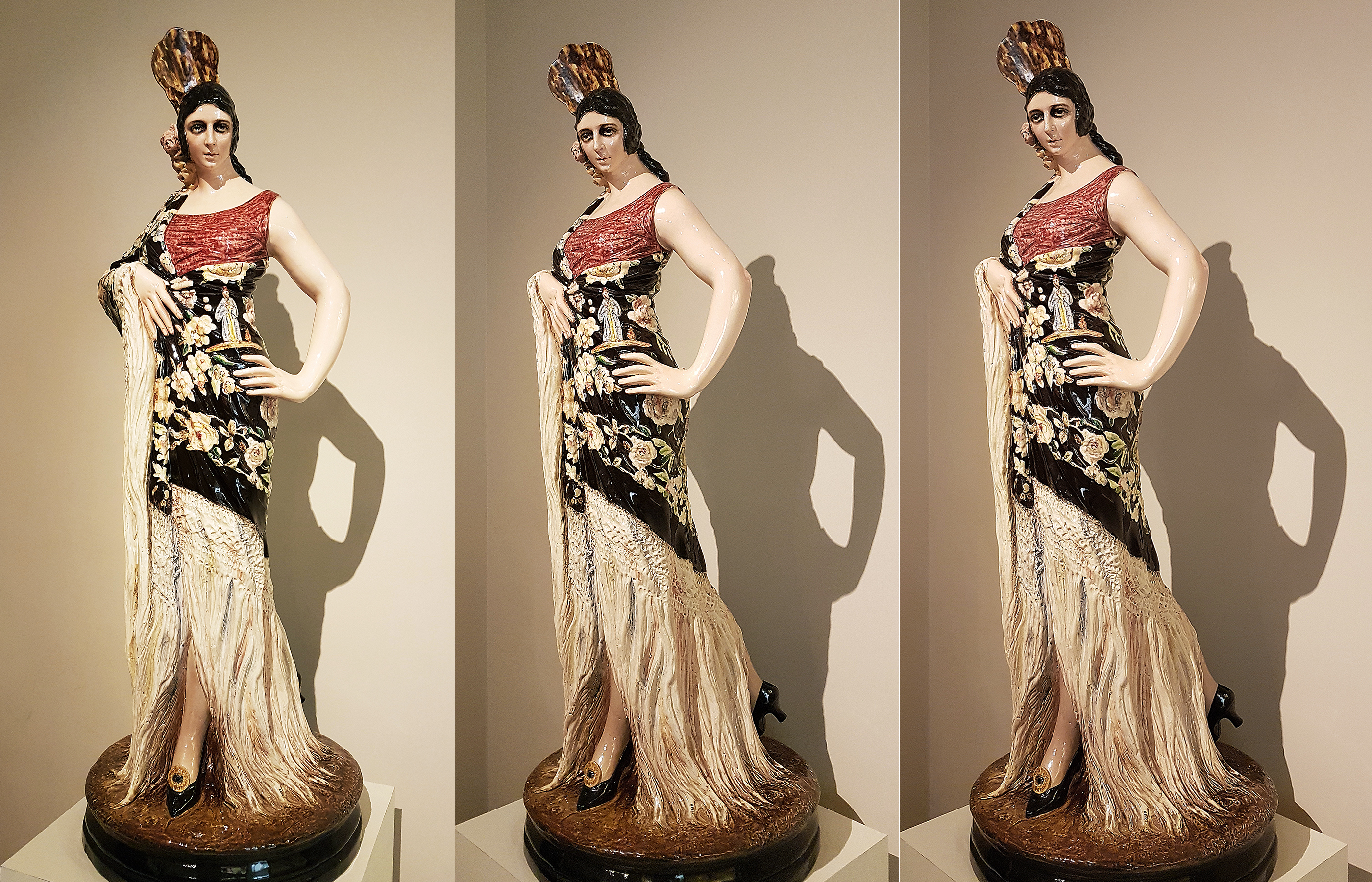 Статуя испанки от фабрики Lladro