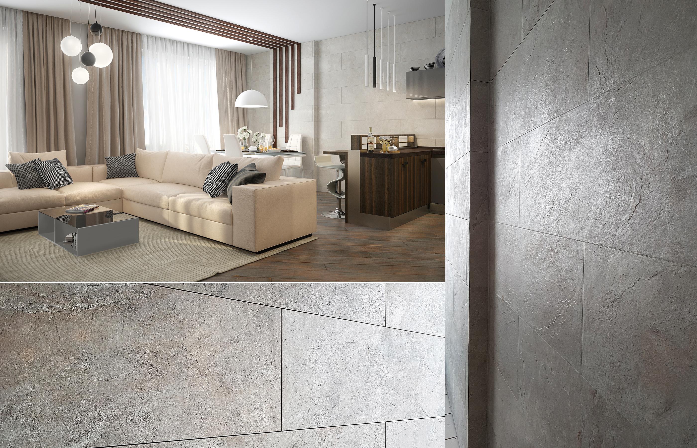 Дизайн интерьера кухни-гостиной в квартире в