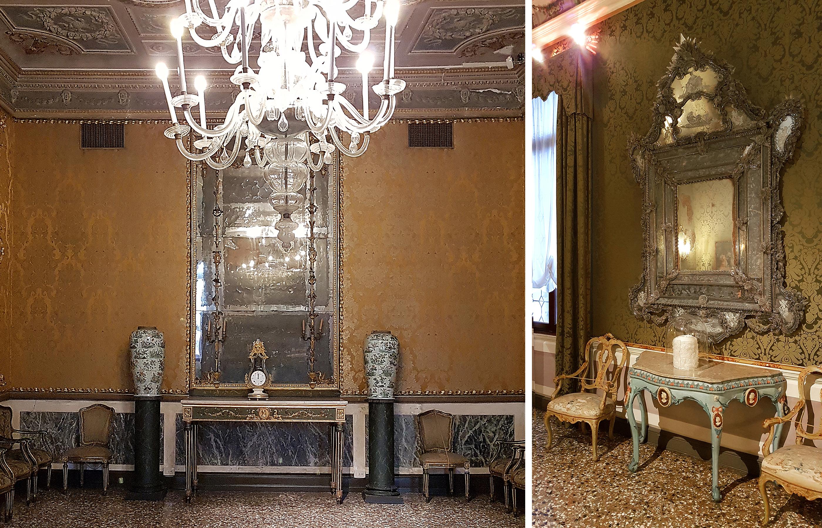 Классический венецианский интерьер