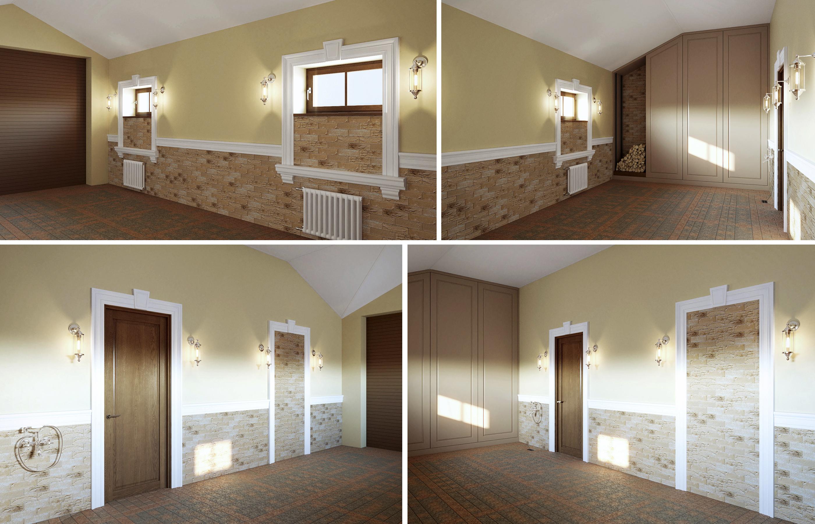 Дизайн интерьера гаража в классическом стиле