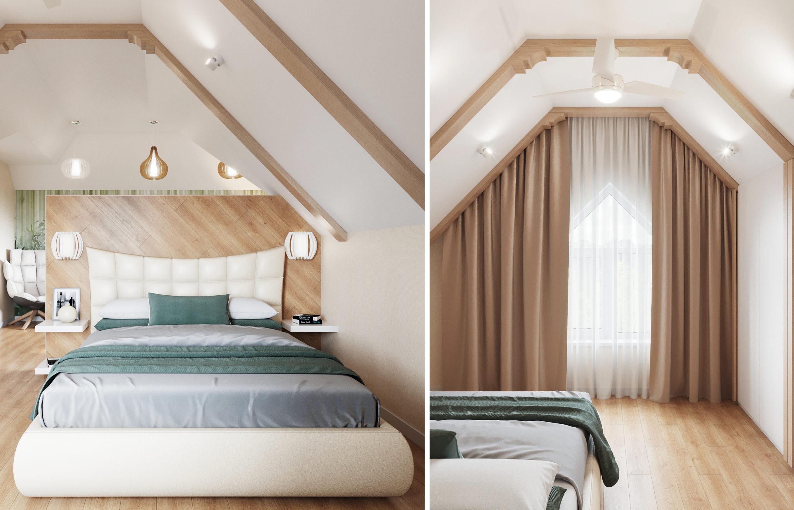 Дизайн интерьера спальни в стиле хюгге
