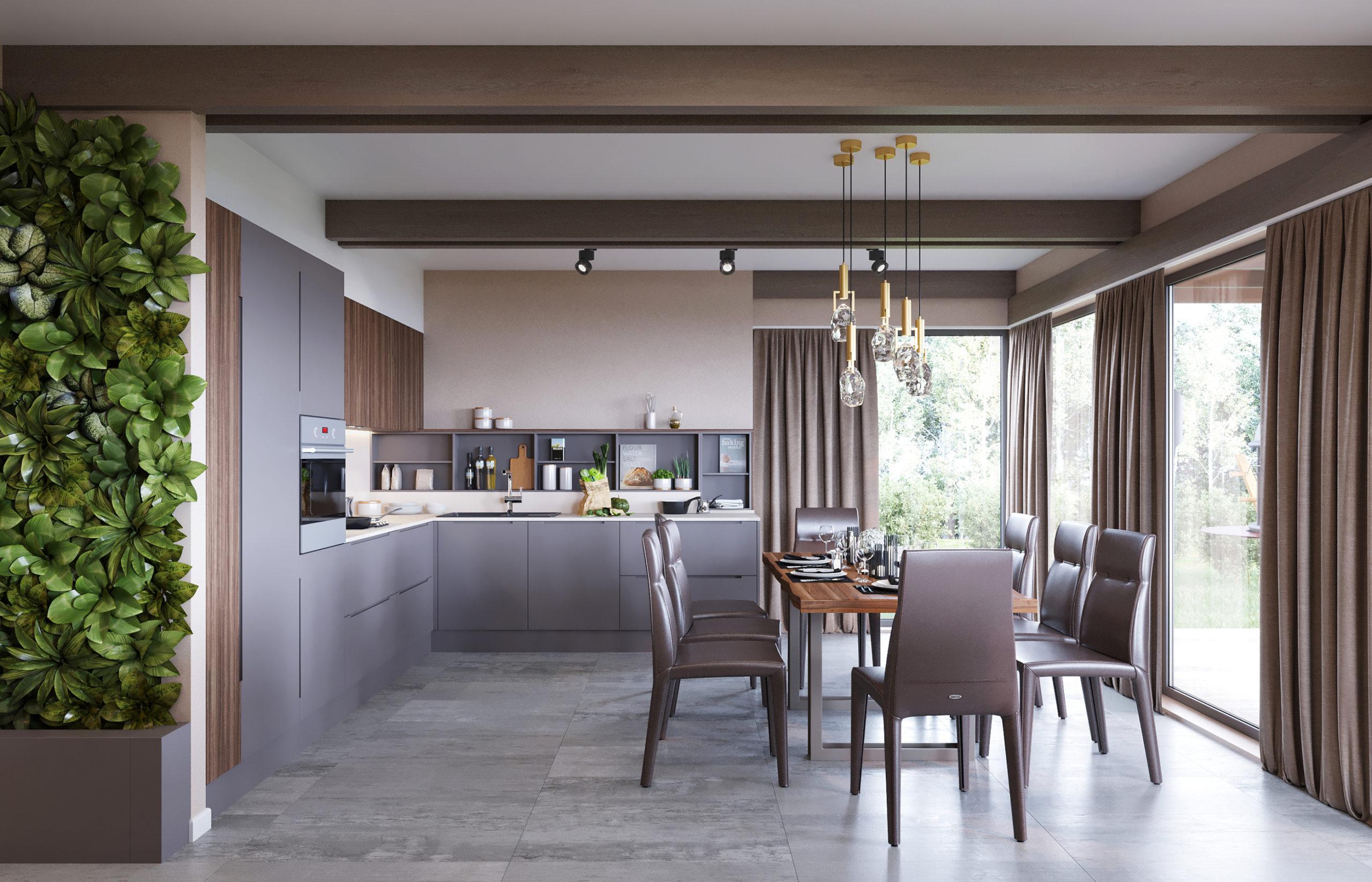 Кухонная мебель от российской фабрики Джулия Новарс