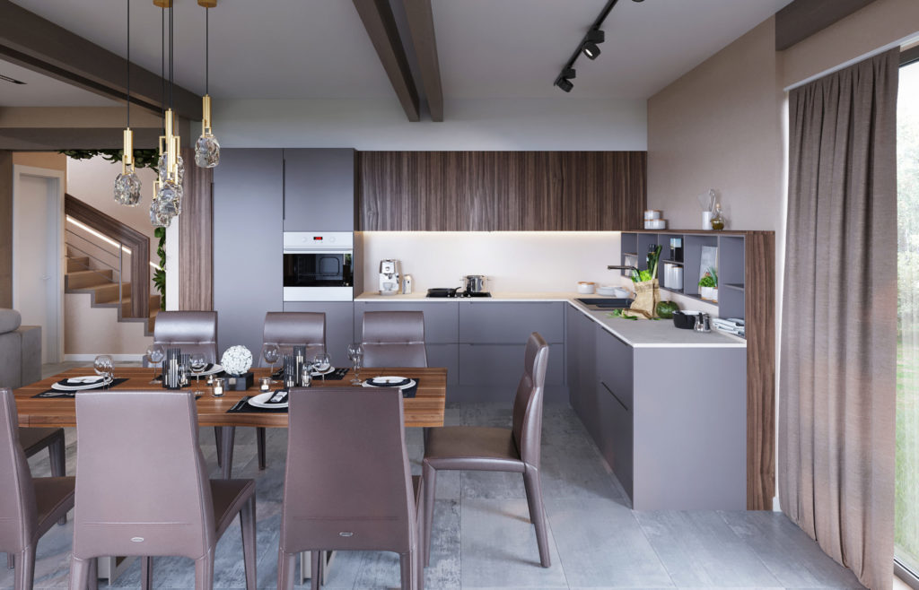 08 Кухня-гостиная