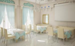 04 интерьер зала ресторана