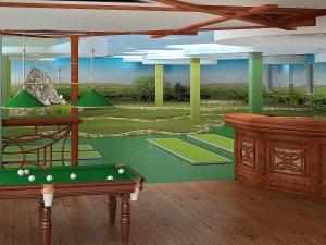 16 мини гольф