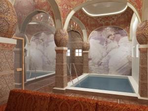 01 бассейн в комплексе Русская баня