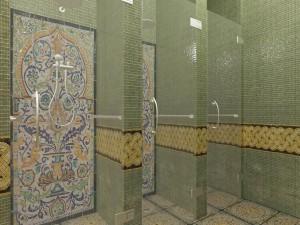 20 душевые в комплексе Турецкая баня