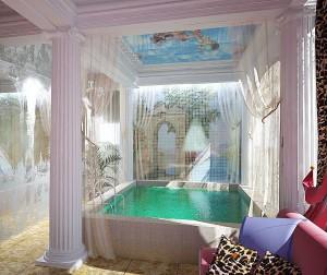 22 бассейн в комплексе Римская баня