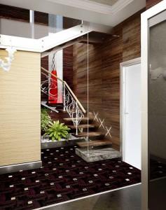 01 холл 1 этажа