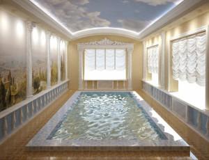 10 бассейн